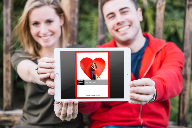 Kocanın Kalbine gir kitabı aşk biletlerin resmi